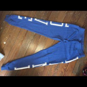 PINK Pants - Blue PINK sweats
